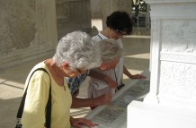 At the Ara Pacis