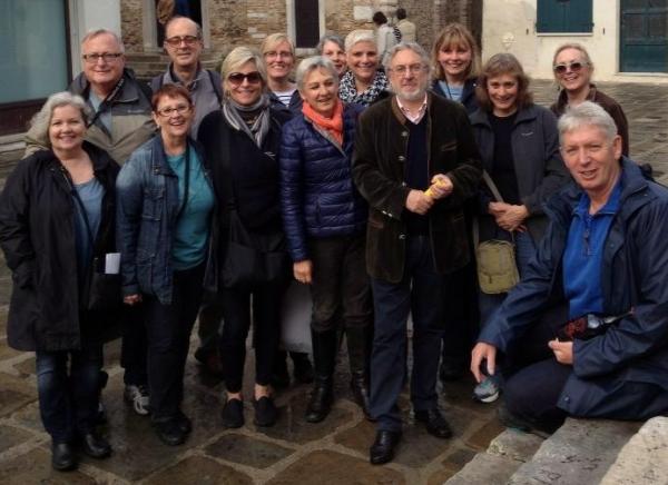 Tour group in Grado