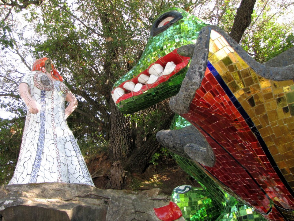 Niki De Saint Phalle Tarot Garden Capalbio Mosaic Masterpieces Tours