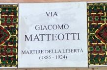 Street nameplates, Ravenna
